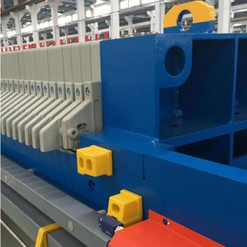 Plate frame filter press for sewage treatment plant