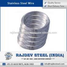 Optimum Strength Highly Efficient Stainless Steel Wire 401 for Bulk Supply