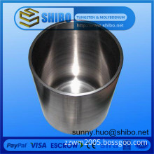 99.95% pure molybdenum(moly) crucible for single crystal