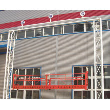 China factory hot galvanizing ZLP800 rope suspended platform