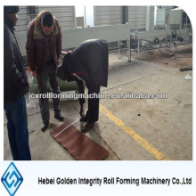 Colorful Stone Coated Roof Tile Roll Forming Machine With 6pcs/Min Speed