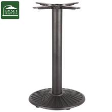 Ножка стола металлическая мебель с круглым основанием