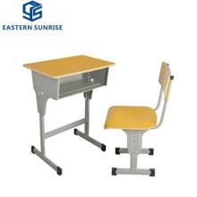 Wooden Metal Chair Desk for Kindergarten Primary