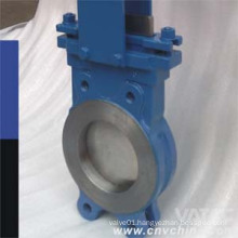 A216 Wcb Body Ss304 Wedge EPDM Seated Knife Gate Valve
