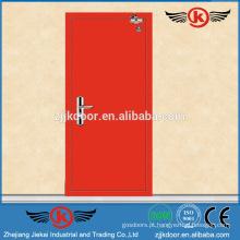 JK-F9028 novo design porta de segurança contra incêndio porta anti-fogo