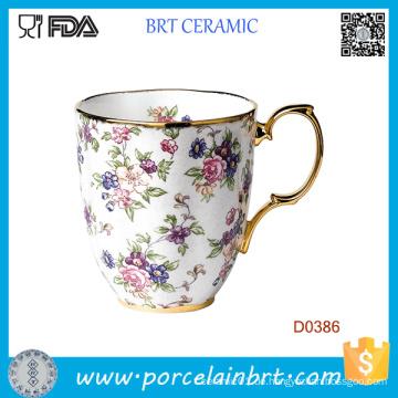 Altes Land Rose 1940-Englisch Chintz Farbe Keramik Becher