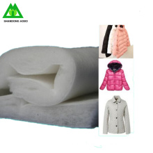 Low price High loft thermal bonded cotton wadding polyester padding