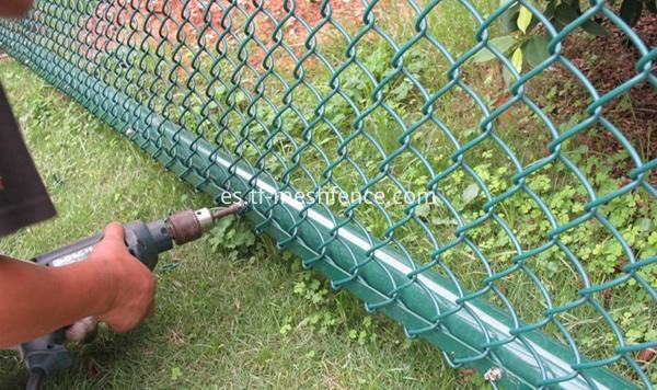 pvc coated chain link