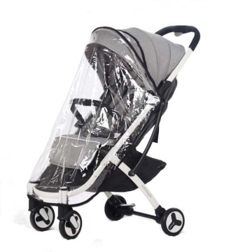 Universal Single Stroller Penutup Hujan Tahan Air / Perisai Angin