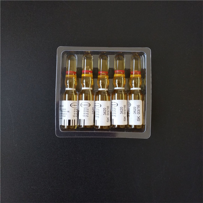 Clear Disposable Ampoules Tray