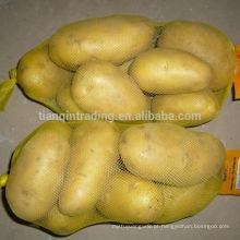 Preço de batata amarela, pacote pequeno