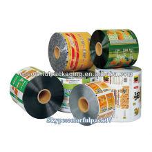 película plástica del paquete de empaquetado de alimentos / material de empaquetado flexible / proveedor plástico del material de empaquetado