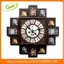 Horloge murale pour cadre photo (RMB)