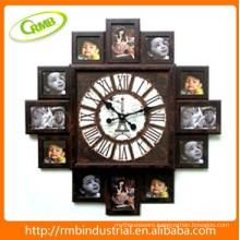 photo frame wall clock(RMB)