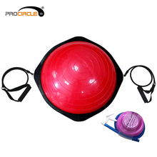 Fitness Gym Yoga Pilates Training Halb Balance Ball mit Pumpe
