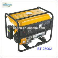 Venda quente 8500w Gerador de gasolina silencioso Gerador portátil de cilindro único