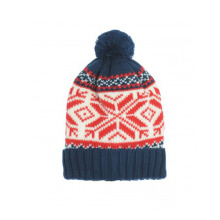 Custom POM POM Knitted Pattern Hat Beanie