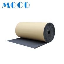 Self-adhesive Rubber Foam Sheets Insulation with Aluminum Foil aluminium foil thermal insulation foam sheet insulation foam roll