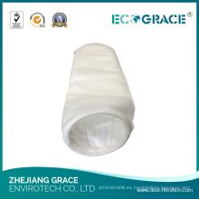 Bolsa de filtro de líquido bolsa de filtro de fibra de poliéster para la fábrica de alimentos y bebidas