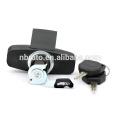 zinc alloy waterproof trailer car trunk lid lock