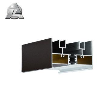 fenêtre d'extrusion en aluminium et cadre de toit en verre
