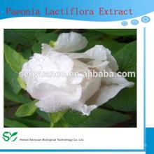 Extrato de raiz de peônia branco de medicina chinesa, extrato de raiz de peônia branco natural, extrato de raiz de peônia branca
