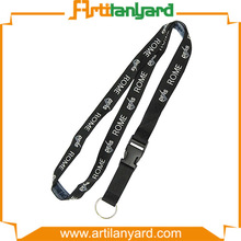 Jacquard Lanyard String with Plastic Buckle