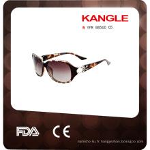 mode promotionnelle de lunettes de soleil en plastique