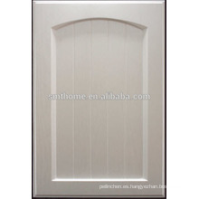 Puerta de armario de cocina de vinilo de pvc para el mercado europeo
