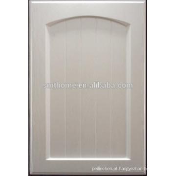 porta de armário da cozinha do vinil do pvc para o mercado europeu