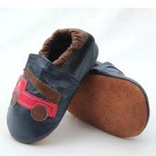 Genuine Leather Baby Shoes Safe Test Crib Toddler shoes