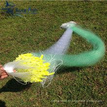 Red de pesca de monofilamento y multifilamento de nylon de alta intensidad