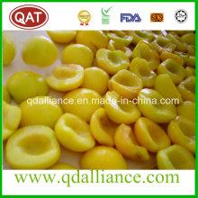 IQF Frozen Yellow Peach avec l'UE Standard