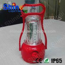 Fonte verde pura branco levou lanterna campismo cerâmica solar lanterna