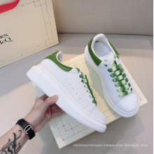 Designer luxury high quality fashion unisex sneakers casual female and male white leisure shoes size 13