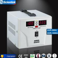 Preço de fábrica e alta qualidade 500VA 300W Regulador Estabilizador AVR fabricados na China