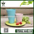 Green lifestyle bamboo cutleries set