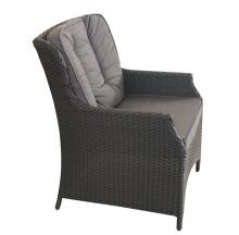 高品質の屋外のアルミ PE の籐の椅子