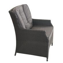Chaise de rotin extérieur en aluminium PE de haute qualité