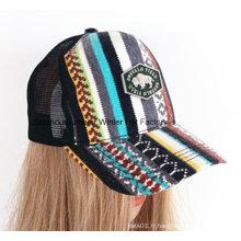 Populaire en Europe, un chapeau de casquette de baseball et un cap