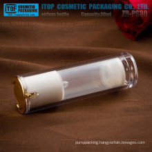 ZB-PS30 30ml special recommended main products double layers acrylic crystal airless bottle
