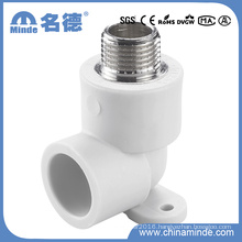 PPR Male Elbow with Disk Type B Fitting for Building Materials