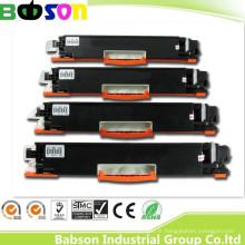 Cartouche de toner de couleur compatible de vente directe d'usine pour HP Ce310, Ce311A, Ce312A, Ce313A (126A) de haute qualité