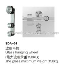 Heiße verkaufende hängenden Rolle des Edelstahls 304 für Glastürsystem mit kurzer Vorbereitungs- und Anlaufzeit