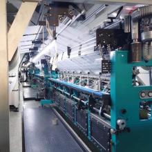 Flannel Warp Knitting Machine