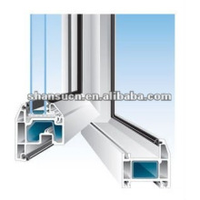 Máquina para fabricar perfiles de ventanas y puertas de PVC