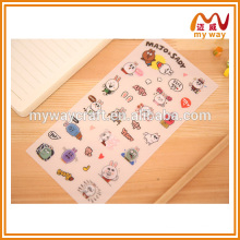 Lovely rabbit expression laptop decoration sticker, new products on china market