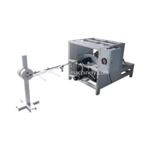single head twisted paper rope making machine