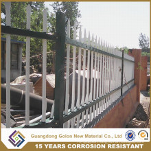 Exterior Ornamental Wrought Iron Residential Fencing