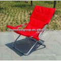 Folding outdoor lounger